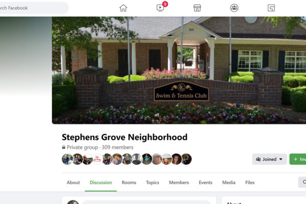 Facebook, our online community bulletin board